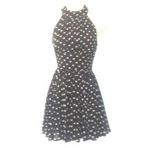 VTG Polka dot halter dress